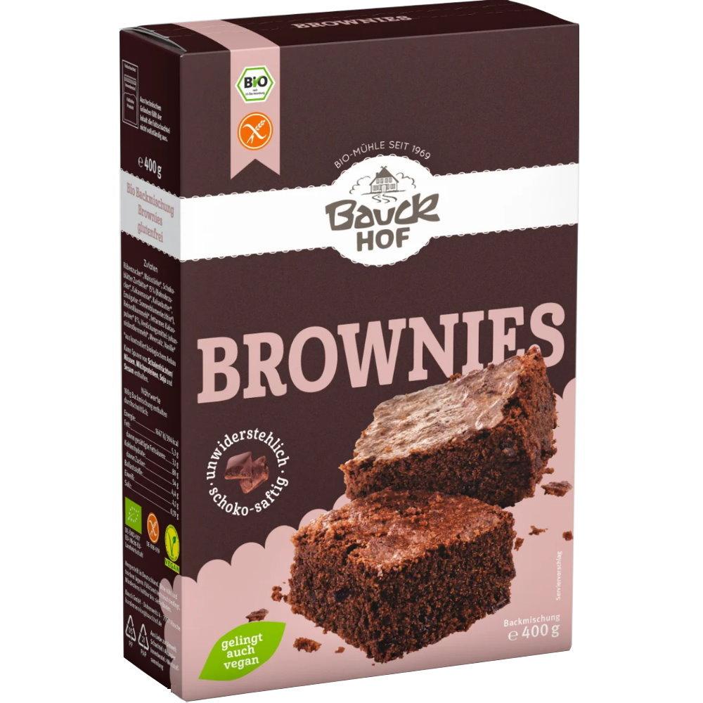 Bauckhof Bio Brownies Backmischung Glutenfrei 400g Backen Mit
