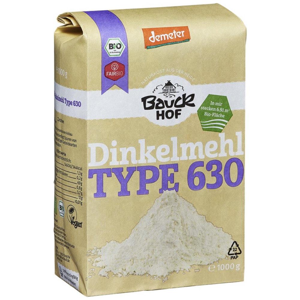 Bauckhof Demeter Dinkelmehl Type 630 1000g Mehle Von Bauck