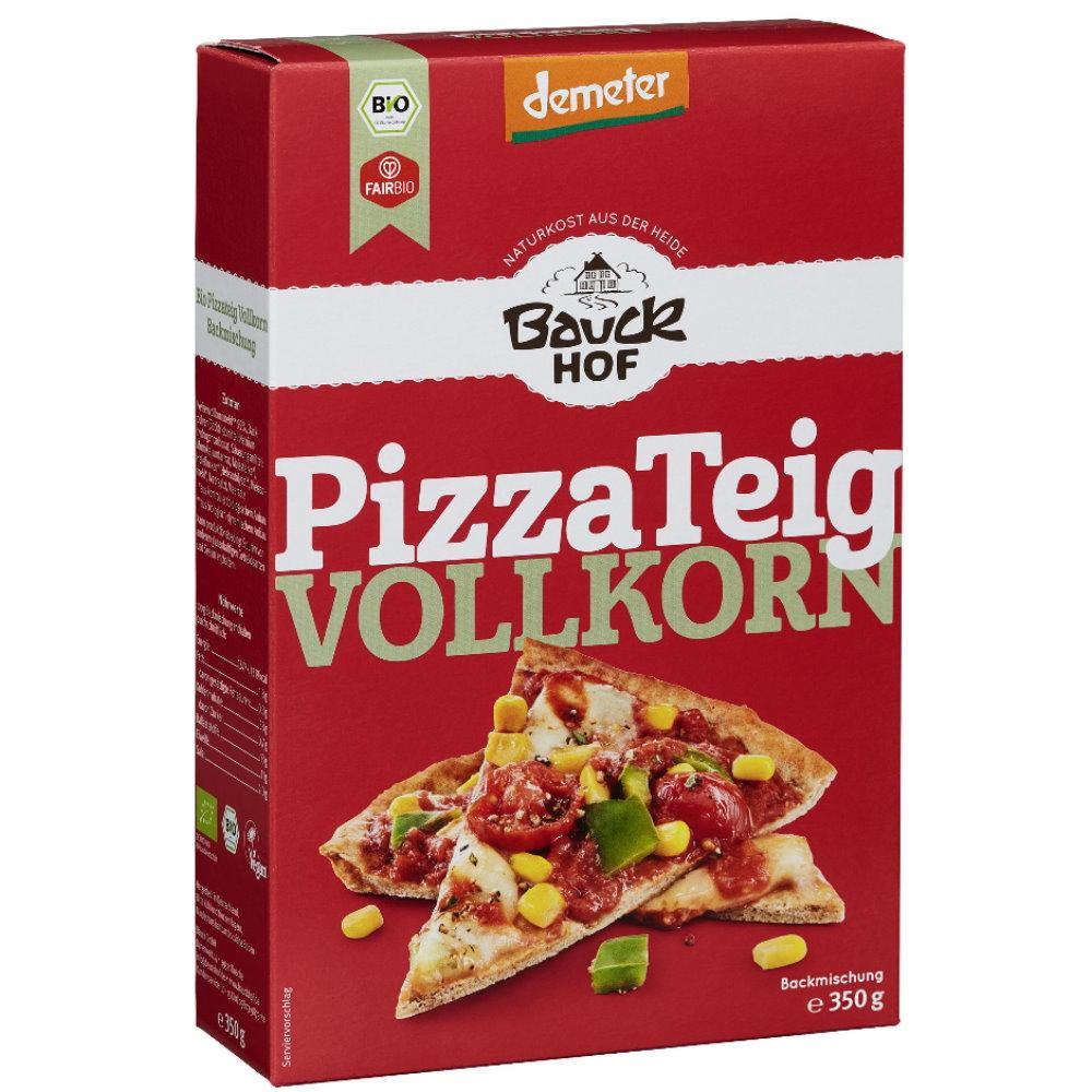 bauckhof demeter pizza teig vollkorn 350g schnelle k che von bauck bauckhof online shop. Black Bedroom Furniture Sets. Home Design Ideas