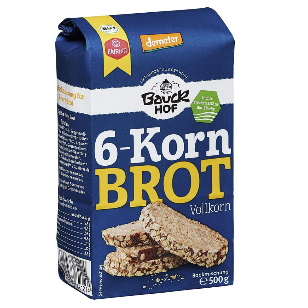Demeter 20 Korn Brot, Vollkorn 20g