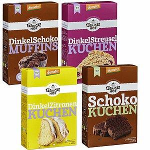Glutenfrei Oder Dinkel Bauckhof Kuchenbackmischungen Sind